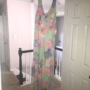 Lilly Pulitzer EUC maxi dress